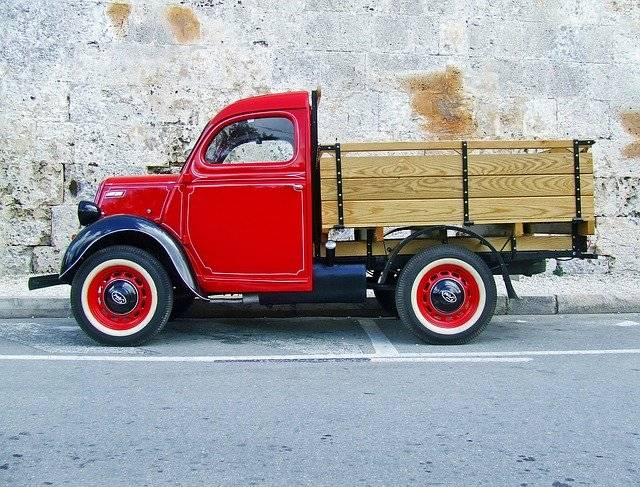 Truck Red Old Vintage - Free photo on Pixabay (761419)