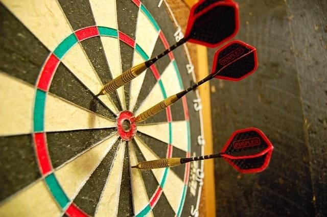 Darts Dartboard Target - Free photo on Pixabay (761584)