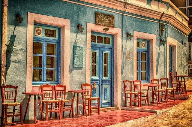 Cafe Architecture Building - Free photo on Pixabay (761617)