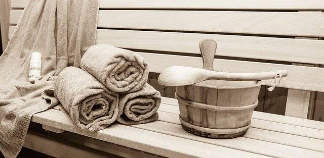 Sauna Relaxation Sweating Bath - Free photo on Pixabay (762054)