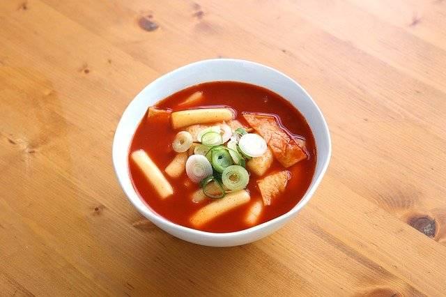 Toppokki Food Korean Spicy - Free photo on Pixabay (762423)