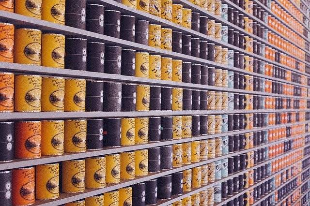 Canned Food Cans Supermarket - Free photo on Pixabay (763097)