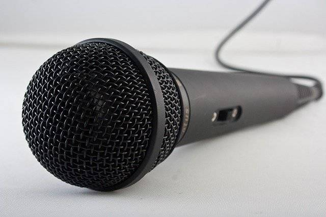 Microphone Music Sing - Free photo on Pixabay (763404)