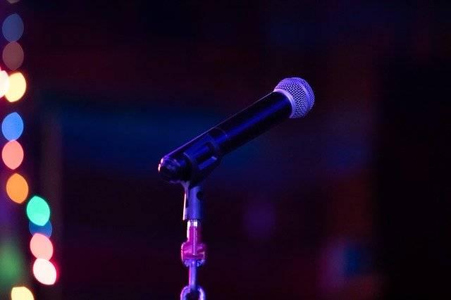 Microphone Speak Sound - Free photo on Pixabay (763429)