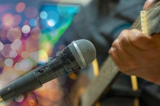 Microphone Singing Music - Free photo on Pixabay (763430)