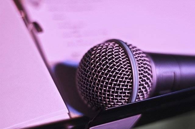 Microphone Music Evening - Free photo on Pixabay (763452)