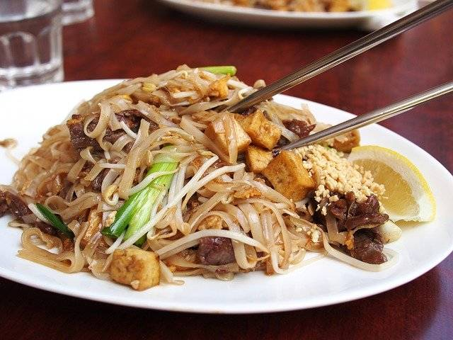 Thai Food Noodle Fried Noodles - Free photo on Pixabay (763473)