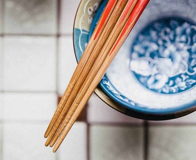 Chopsticks Bowl Bamboo - Free photo on Pixabay (763474)