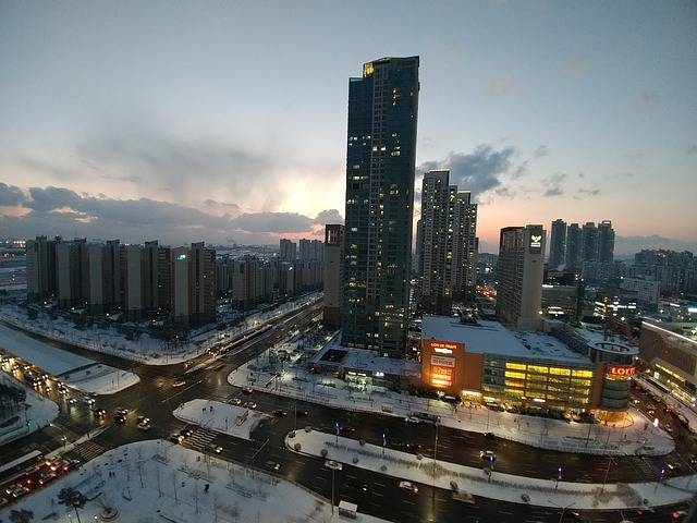 Cheongna Incheon Winter - Free photo on Pixabay (763527)
