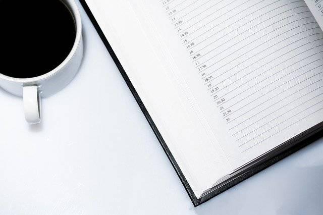 Agenda Appointment Calendar Coffee - Free photo on Pixabay (763529)