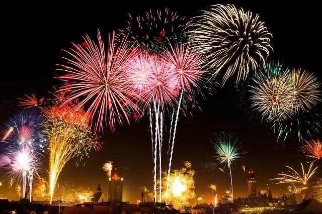 New Year'S Eve Fireworks Beacon - Free photo on Pixabay (763531)