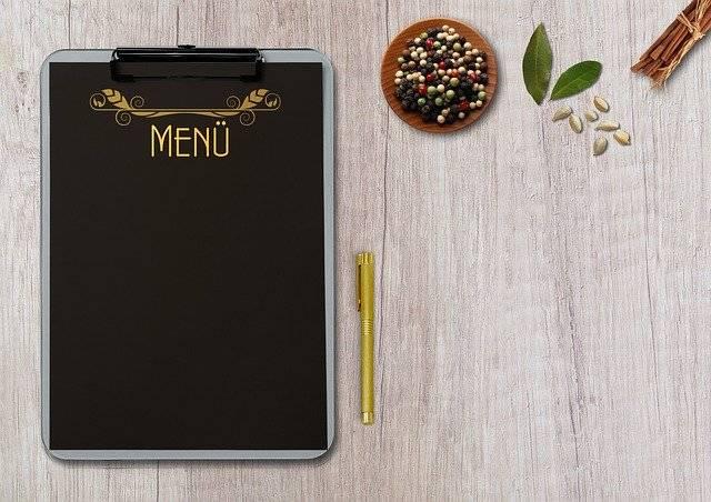 Menu Table Terminal Board - Free photo on Pixabay (763870)