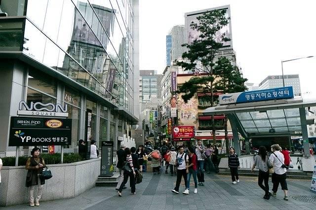 Myeongdong Seoul Korea - Free photo on Pixabay (763913)