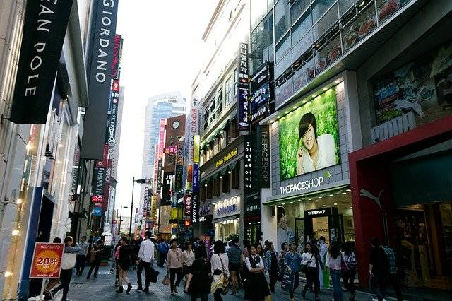 Myeongdong Seoul Korea - Free photo on Pixabay (764041)