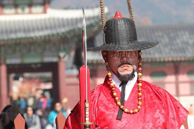 Korea Guard Seoul - Free photo on Pixabay (764343)