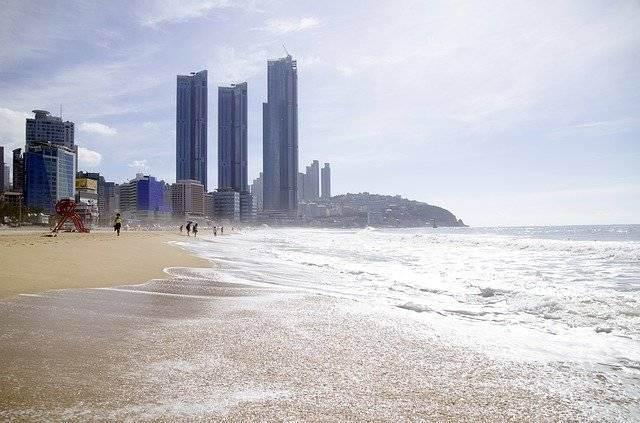 Haeundae Beach Sea Busan - Free photo on Pixabay (764498)