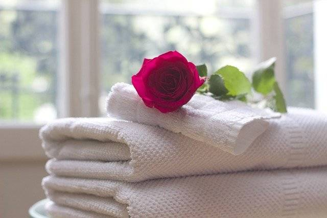 Towel Rose Clean - Free photo on Pixabay (764984)