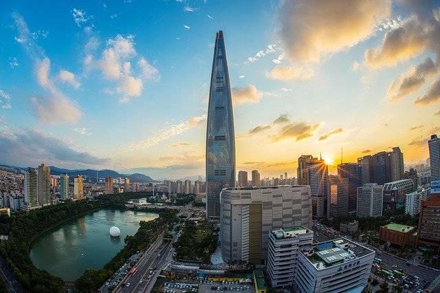 Lotte World Tower Seoul Republic - Free photo on Pixabay (764992)