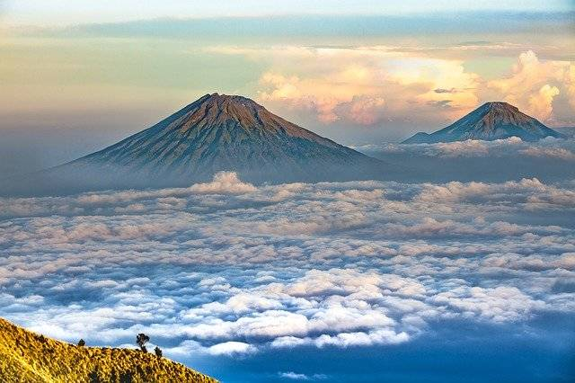 Landscape Volcano Central Java - Free photo on Pixabay (765180)