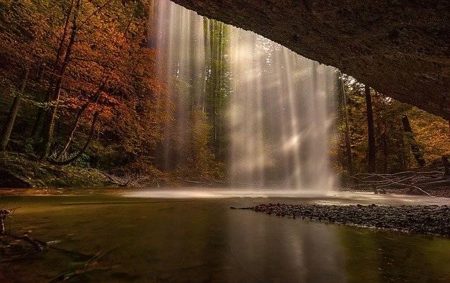 Nature Autumn Waterfall - Free photo on Pixabay (765183)