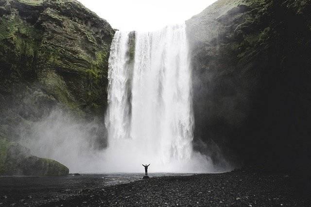 Cascade Waterfall Iceland - Free photo on Pixabay (765194)