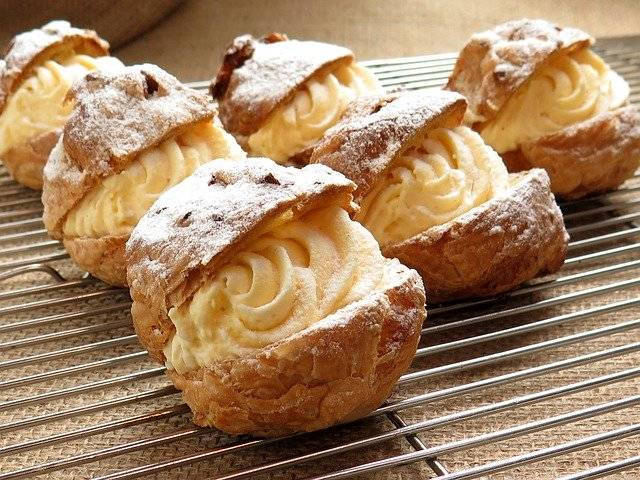 Cream Puffs Delicious France - Free photo on Pixabay (766158)