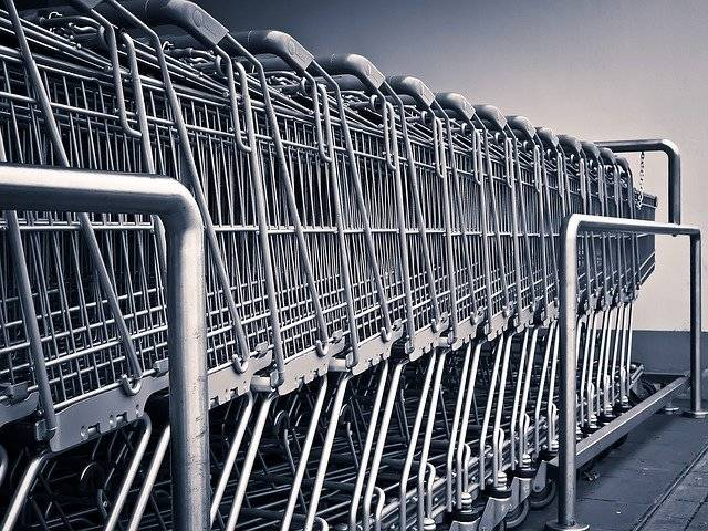 Shopping Cart Supermarket - Free photo on Pixabay (766583)
