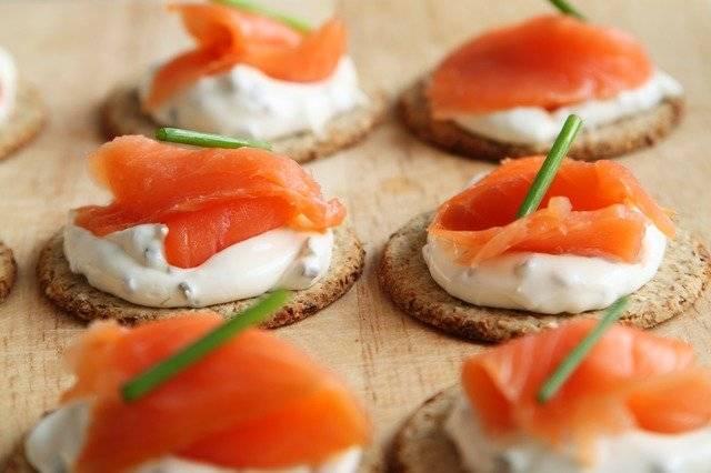 Appetizer Salmon Canape - Free photo on Pixabay (767472)