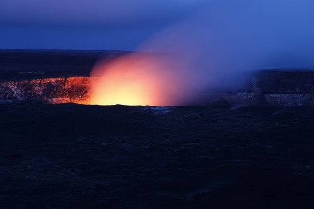 Hawaii Volcano Hot - Free photo on Pixabay (767735)