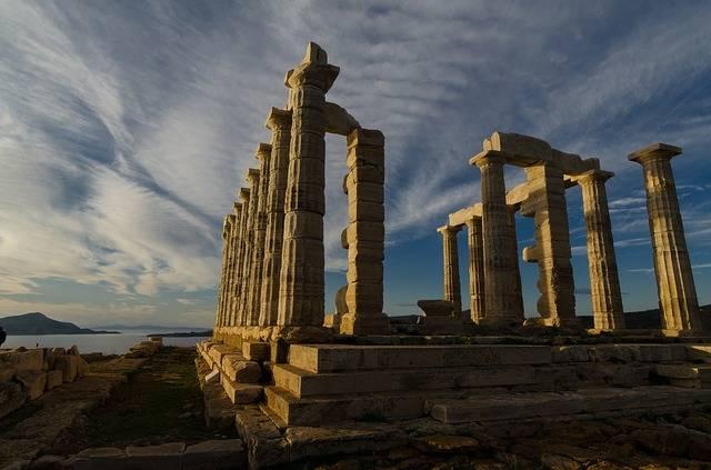 Temple Ancient Sunio - Free photo on Pixabay (767805)