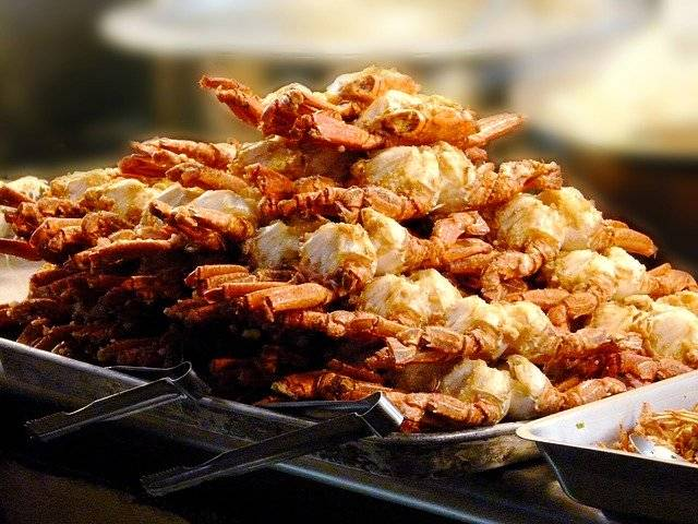 Crab Fried Crabs Dinner - Free photo on Pixabay (767825)