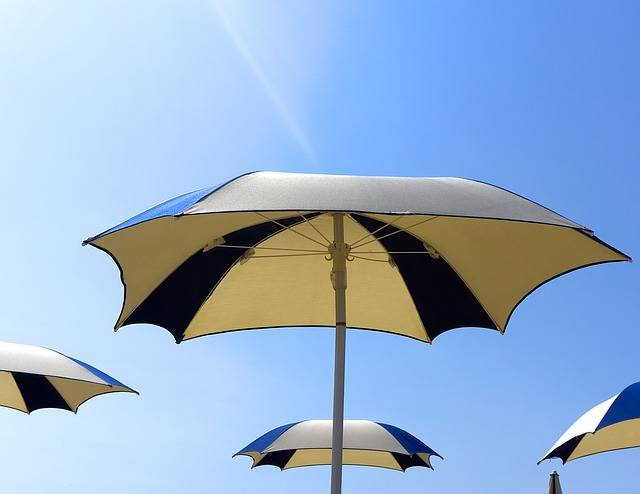 Parasol Parasols Sun Blue - Free photo on Pixabay (767929)