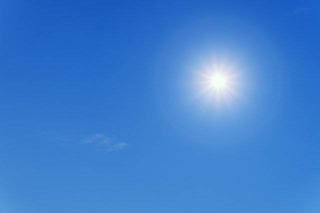 Sun Summer Blue - Free photo on Pixabay (768381)