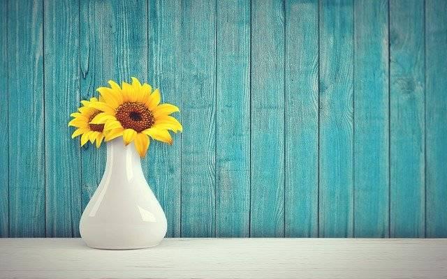 Sunflower Vase Vintage - Free photo on Pixabay (768651)