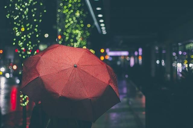 Umbrella Night Rain - Free photo on Pixabay (769040)