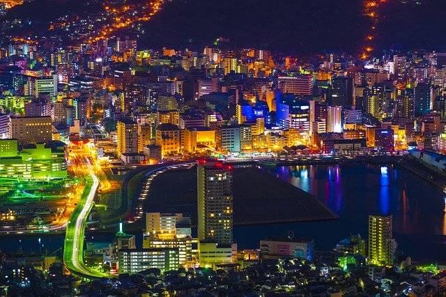 Night View Nagasaki Japan - Free photo on Pixabay (769641)