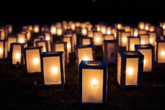 Lights Christmas Luminaries Night - Free photo on Pixabay (769644)