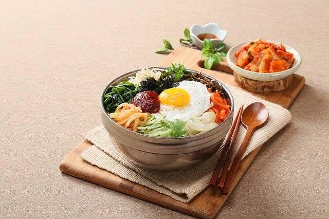 Food Photography Korean Bibimbap - Free photo on Pixabay (769992)