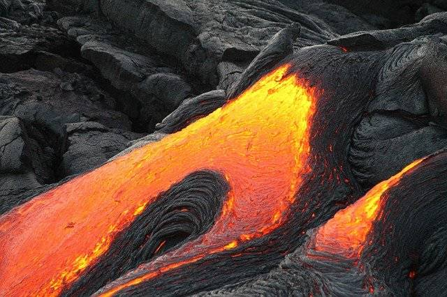 Volcano Lava Flowing - Free photo on Pixabay (770379)