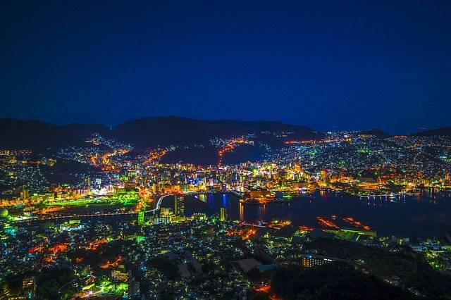 Night View Nagasaki Japan - Free photo on Pixabay (770393)