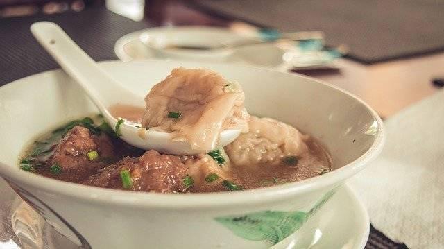 Dumplings Soup Chinese - Free photo on Pixabay (770423)