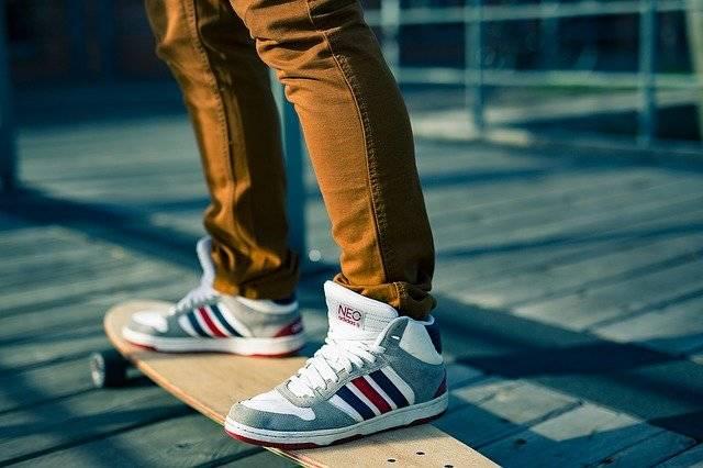Skateboards Sports Shoes Shoelaces - Free photo on Pixabay (770544)