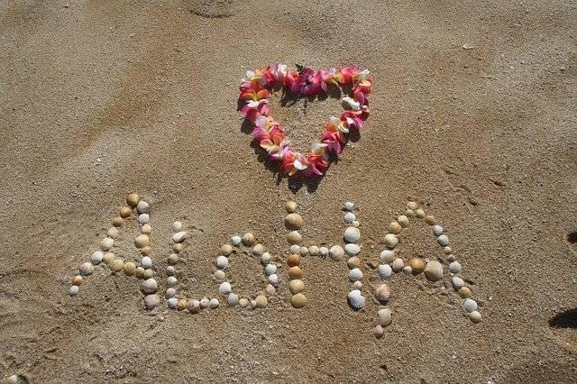 Aloha Sand Hawaii - Free photo on Pixabay (770547)