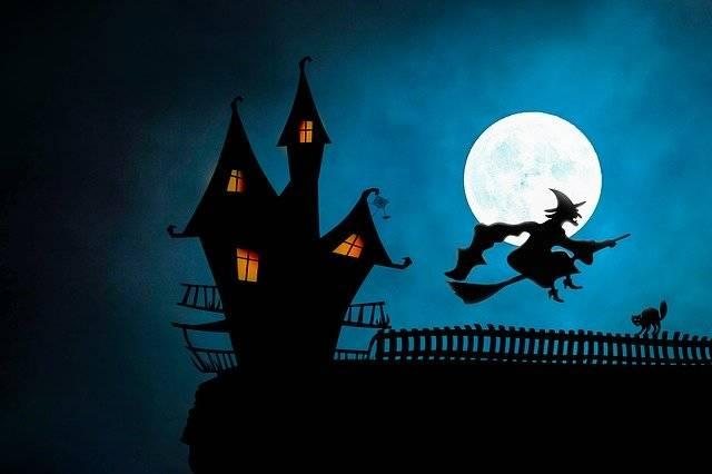 Halloween Witch'S House The Witch - Free image on Pixabay (770566)