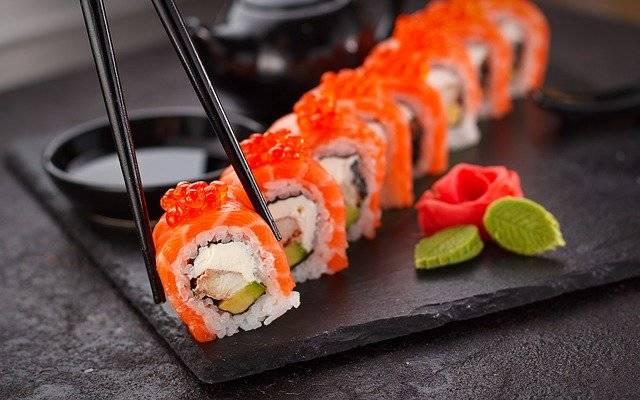 Sushi Japanese Plate - Free photo on Pixabay (771932)