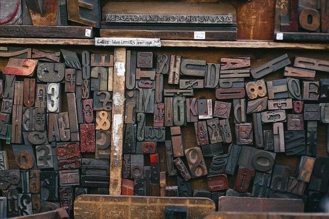 Woodtype Printing Font - Free photo on Pixabay (772140)