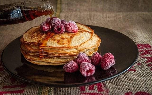 Pancakes Maple Syrup Sweet - Free photo on Pixabay (772236)