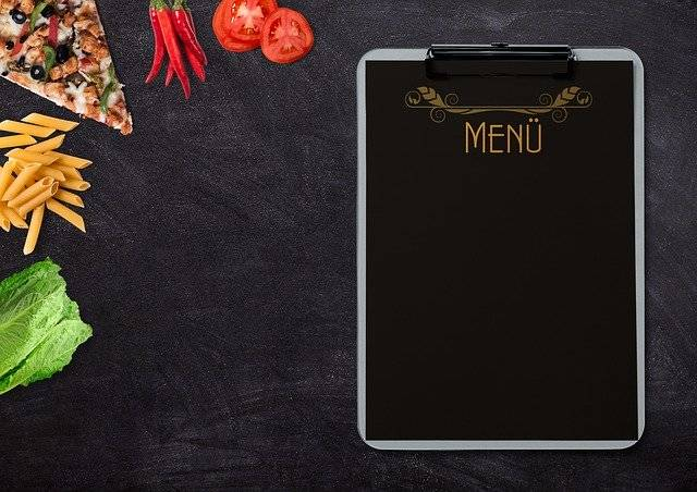 Menu Pizza Pasta - Free photo on Pixabay (772280)