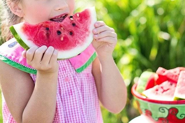 Watermelon Summer Little Girl - Free photo on Pixabay (772409)