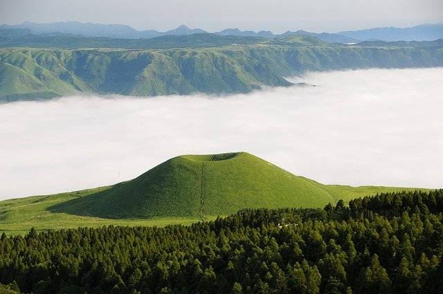 Aso Komezuka Sea Of Clouds - Free photo on Pixabay (772860)